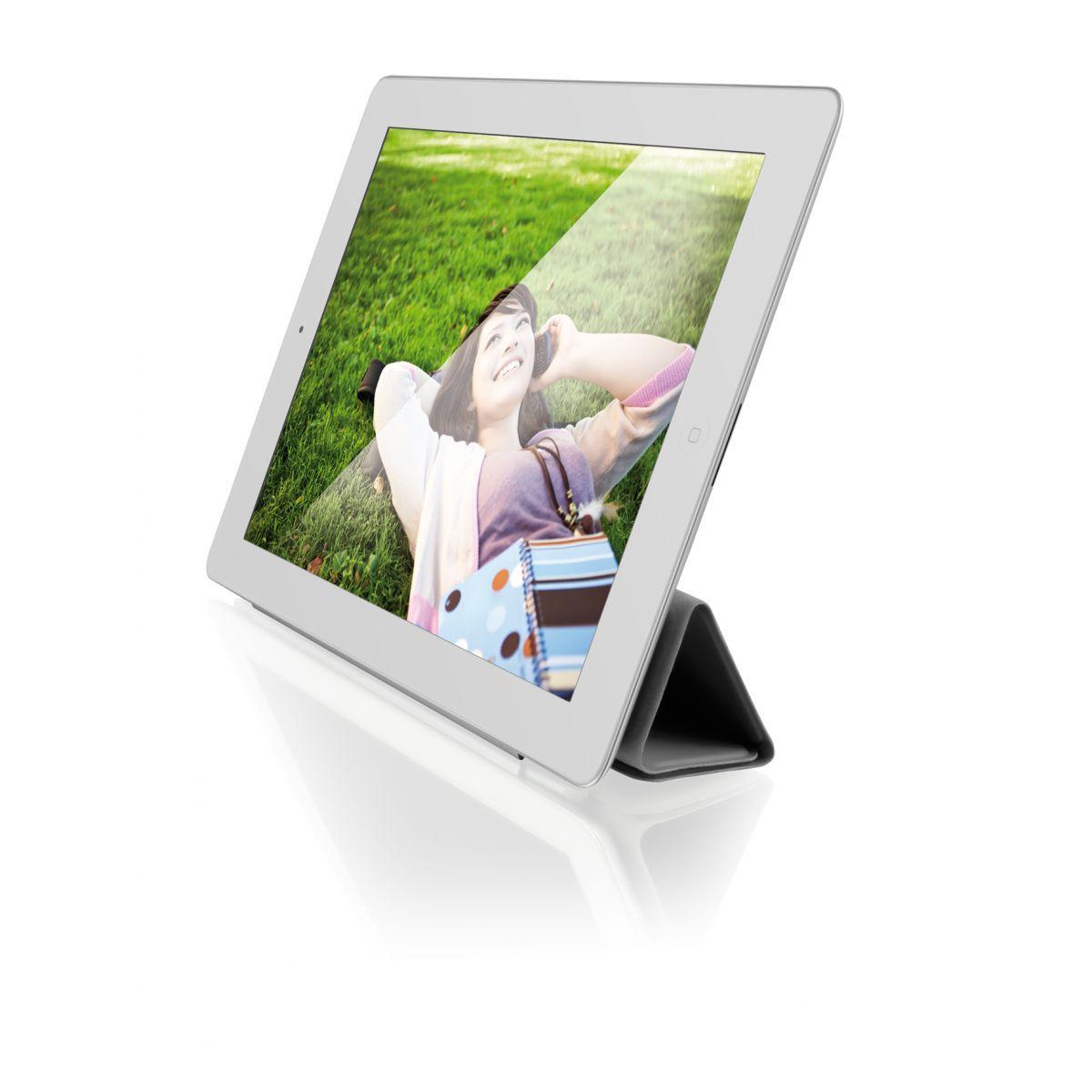Capa iPad 2 e 3 Smart Cover Cinza Magnética Multilaser - BO162