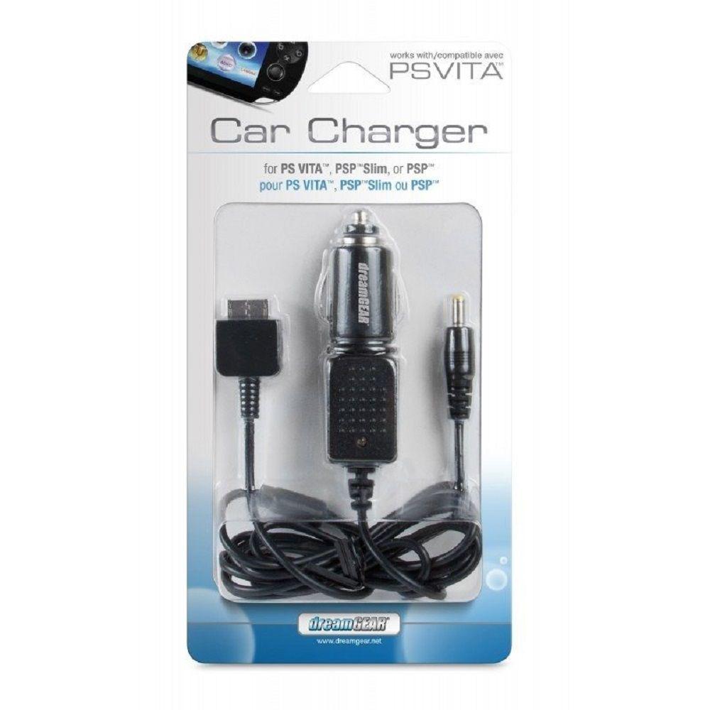 Carregador Veicular de PSVITA, PSP Slim ou PSP Cabo 1,2m - DGPSV3301