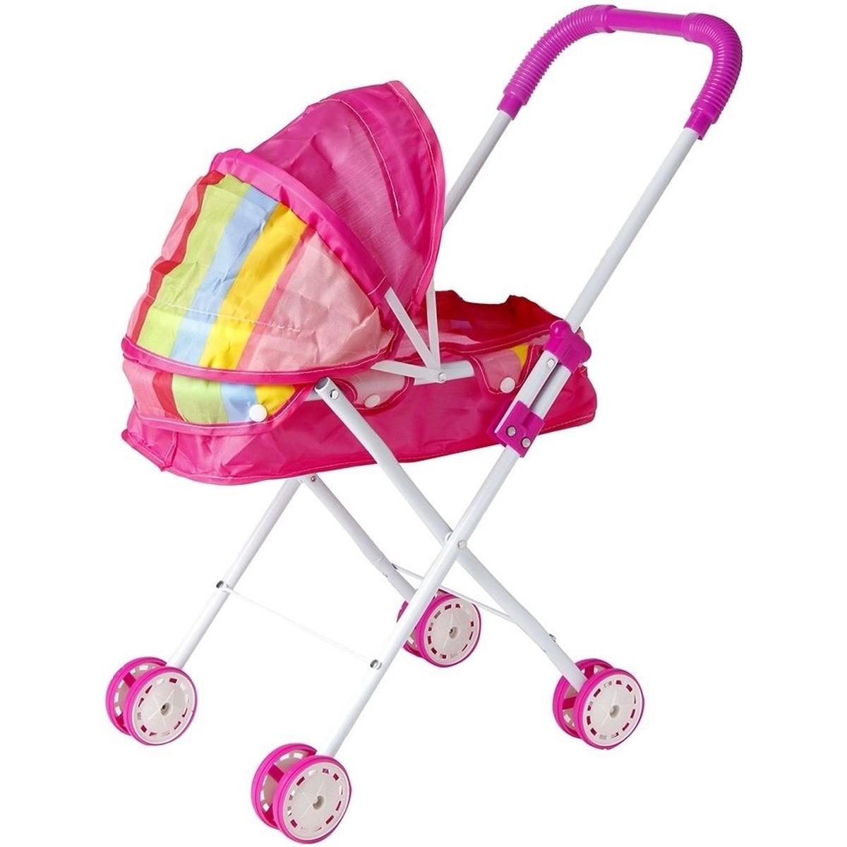 Carrinho de Boneca Dobrável Brinquedo Infantil - BW098