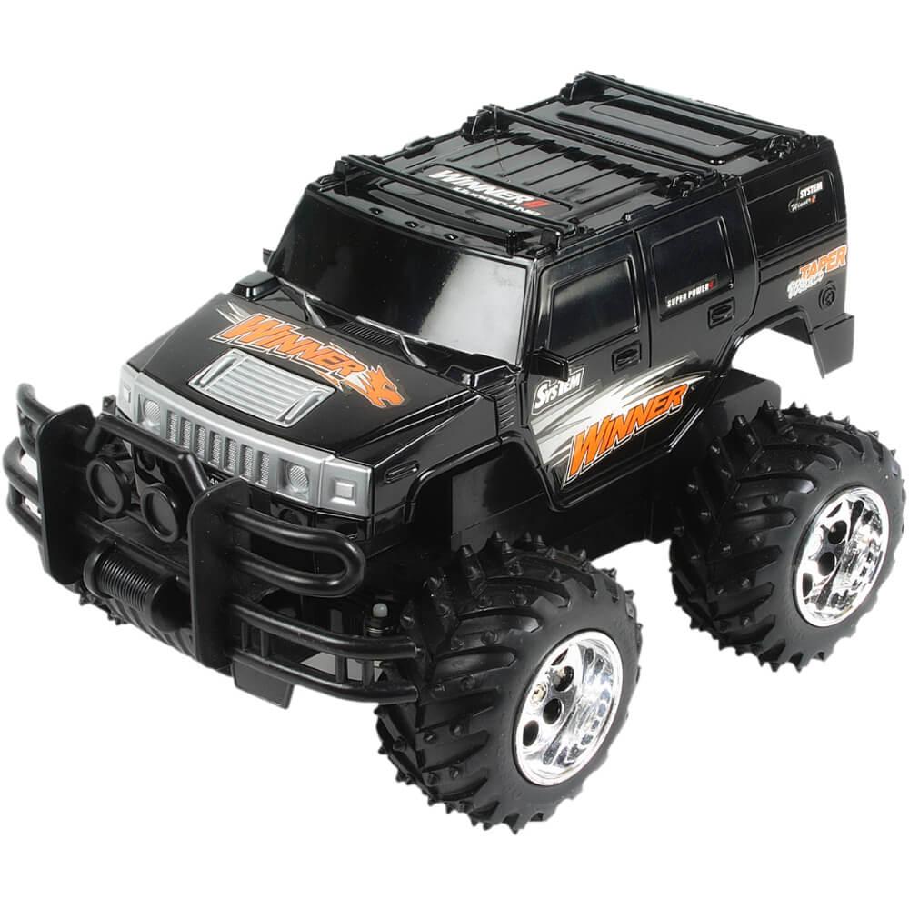 Carrinho de Controle Remoto Jeep Emocionante Com Bateria Recarregável e 4 Canais - HQ4020