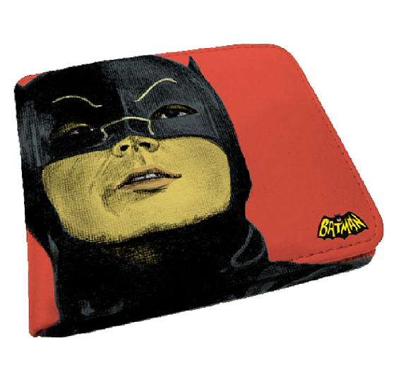 Carteira Pu Dco Movie Batman Face Fd Rosa - 68026736