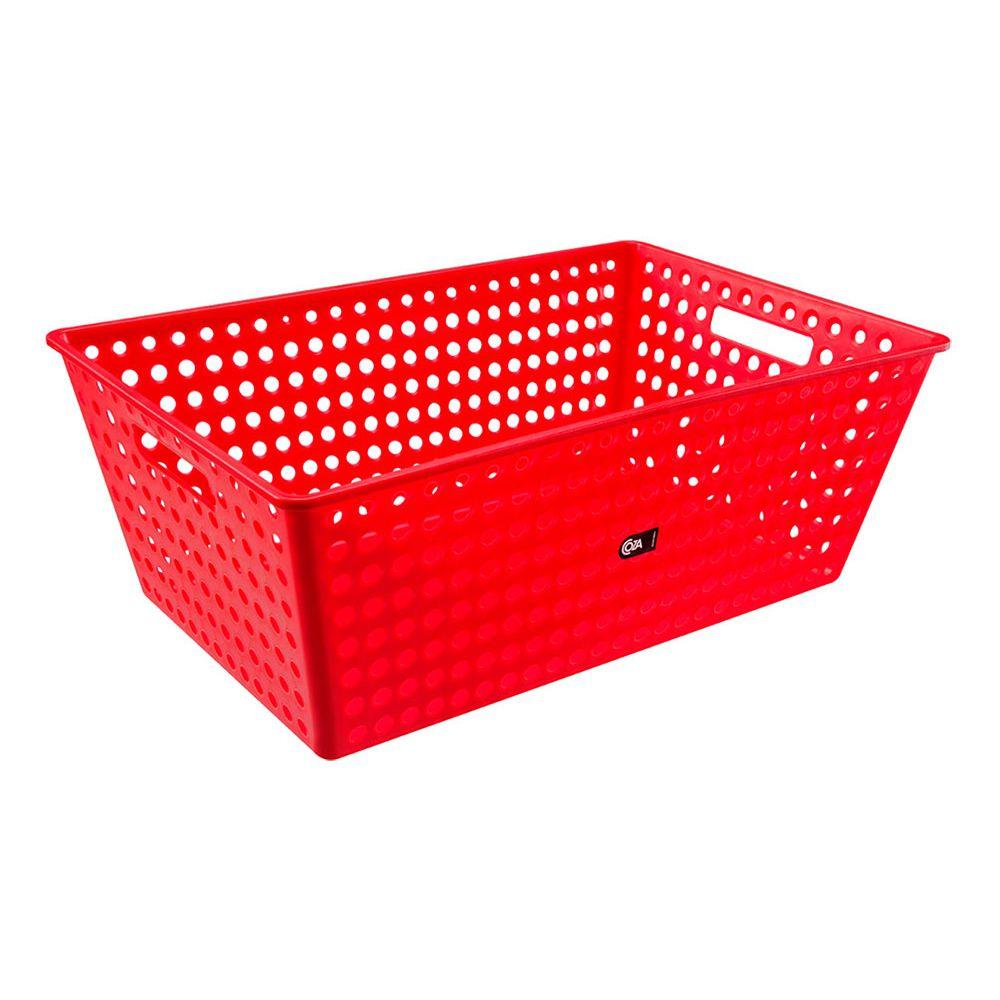 Cestão Organizador Coza Vermelho 595 X 388 X 223MM - 10869-0053