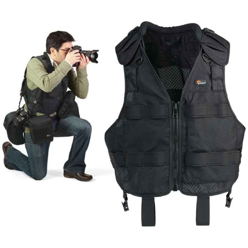 Colete LowePro Technical Vest Para Fotógrafo Profissional - LP36286