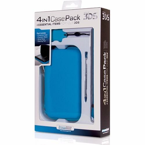 kit De 4 acessórios Para Nintendo 3DS Dreamgear - DG3DS4214