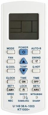 Controle Universal Para Ar Condicionado KT1000 Plus