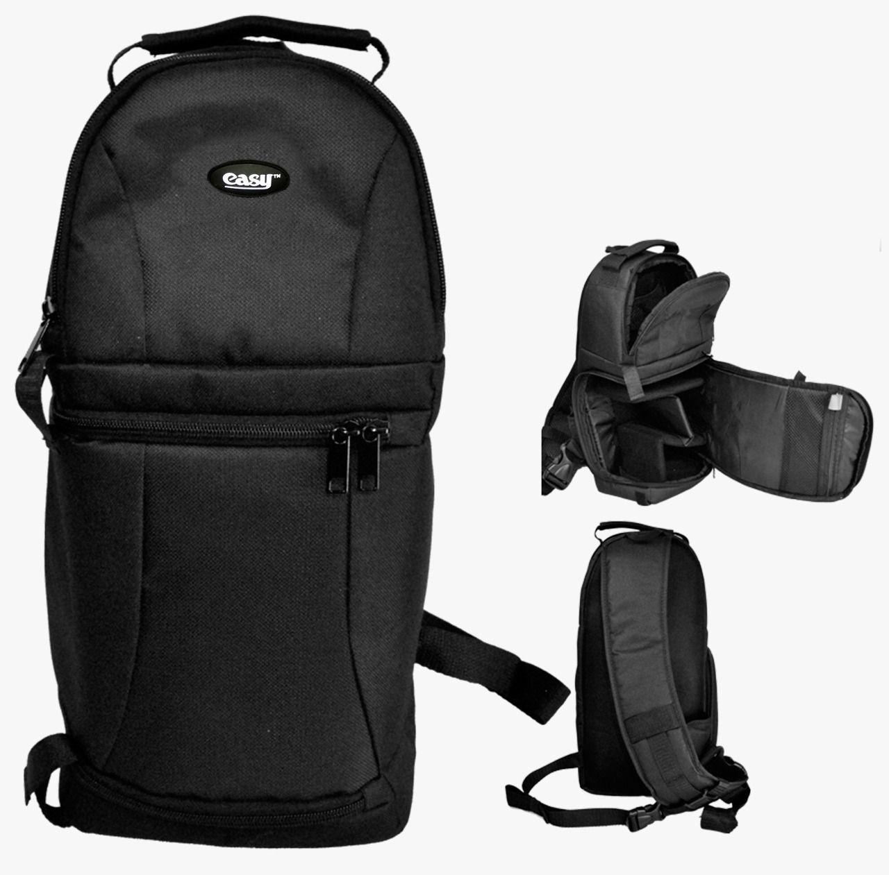 Mochila Easy Compacta Para Câmera Fotografica Filmadora E Acessórios - EC-8825FE