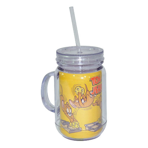 Copo Jarra Acrílico Hb Tom And Jerry Mouse In - 75028518
