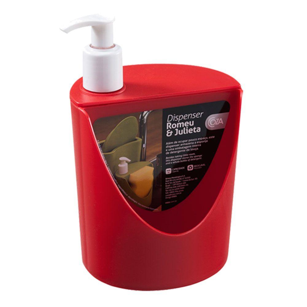 Dispenser Coza R&j 600ml Natural - PMC - 10837-0053