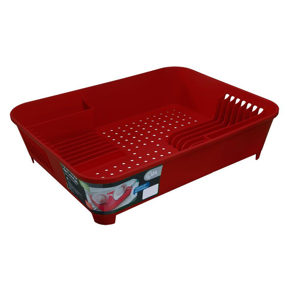Escorredor De Louças Vermelho Coza - 10848-0053