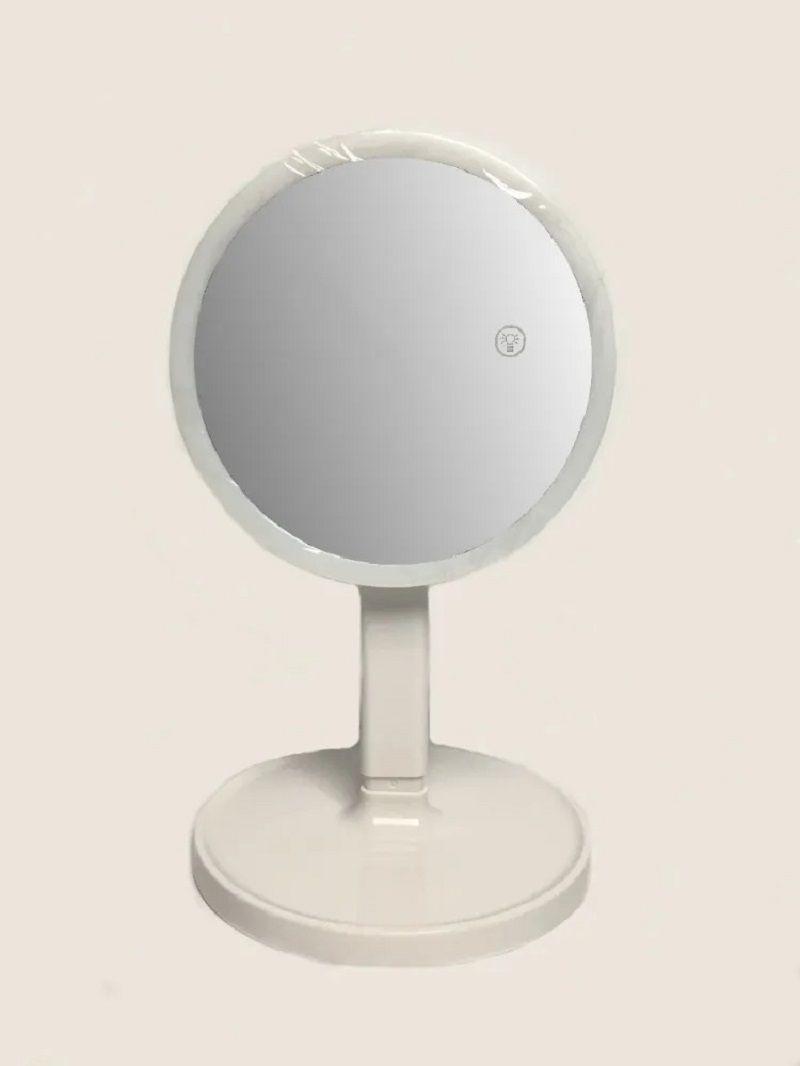 Espelho Led Para Maquiagem Ampliação 7X Durawell - BC-100