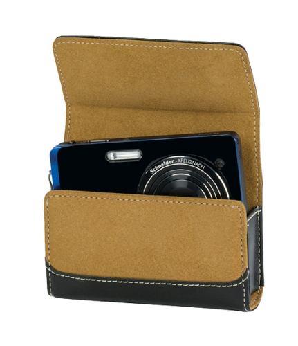 Estojo Case LowePro Em Couro E Camurça Para Câmera Compacta Sorrento 10 - Lp36221
