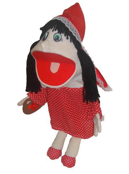 Fantoche Chapeuzinho Vermelho - 1 Peça - Jodane 7014