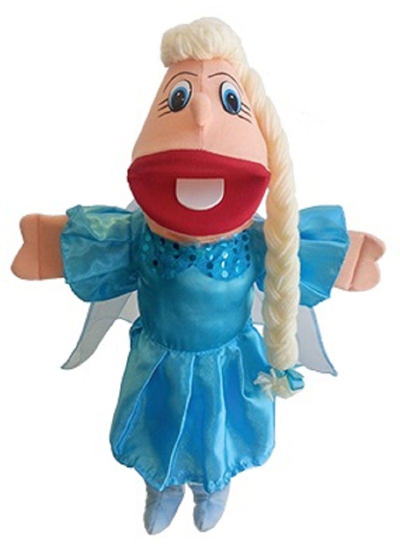 Fantoche de Espuma Frozen Princesa Azul Fada Gonzaga - P202