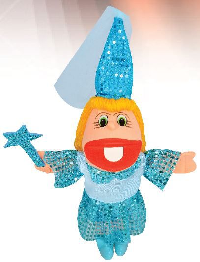 Fantoche de Espuma Frozen Princesa Azul Fada - P202