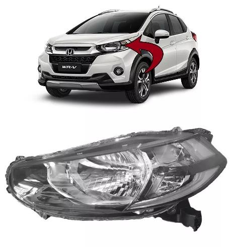 Farol Dianteiro Honda Wrv 2017 E 2018 Original Stanley