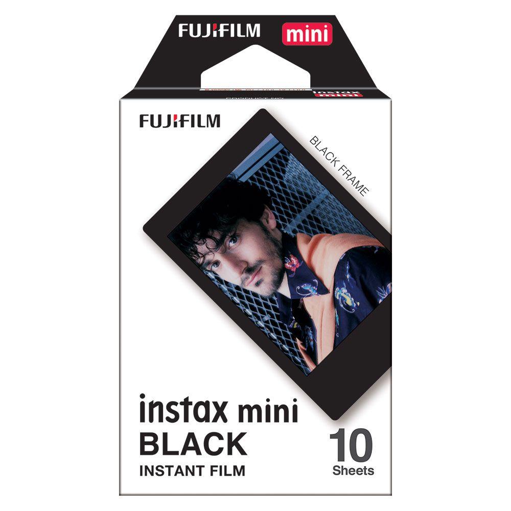 FILME INSTAX MINI BLACK - FILMEBLACK10