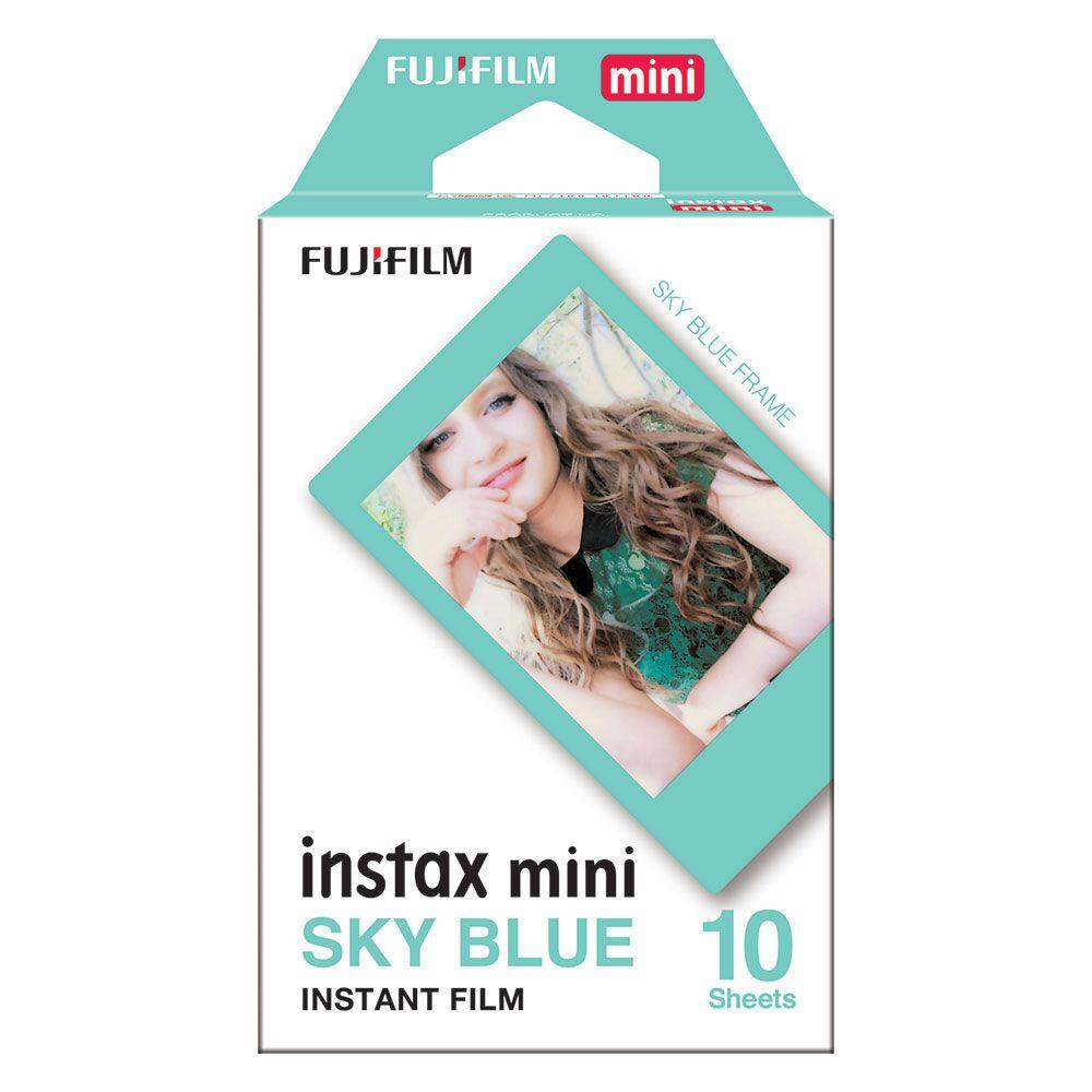 FILME INSTAX MINI SKY BLUE - FILMEBLUE10