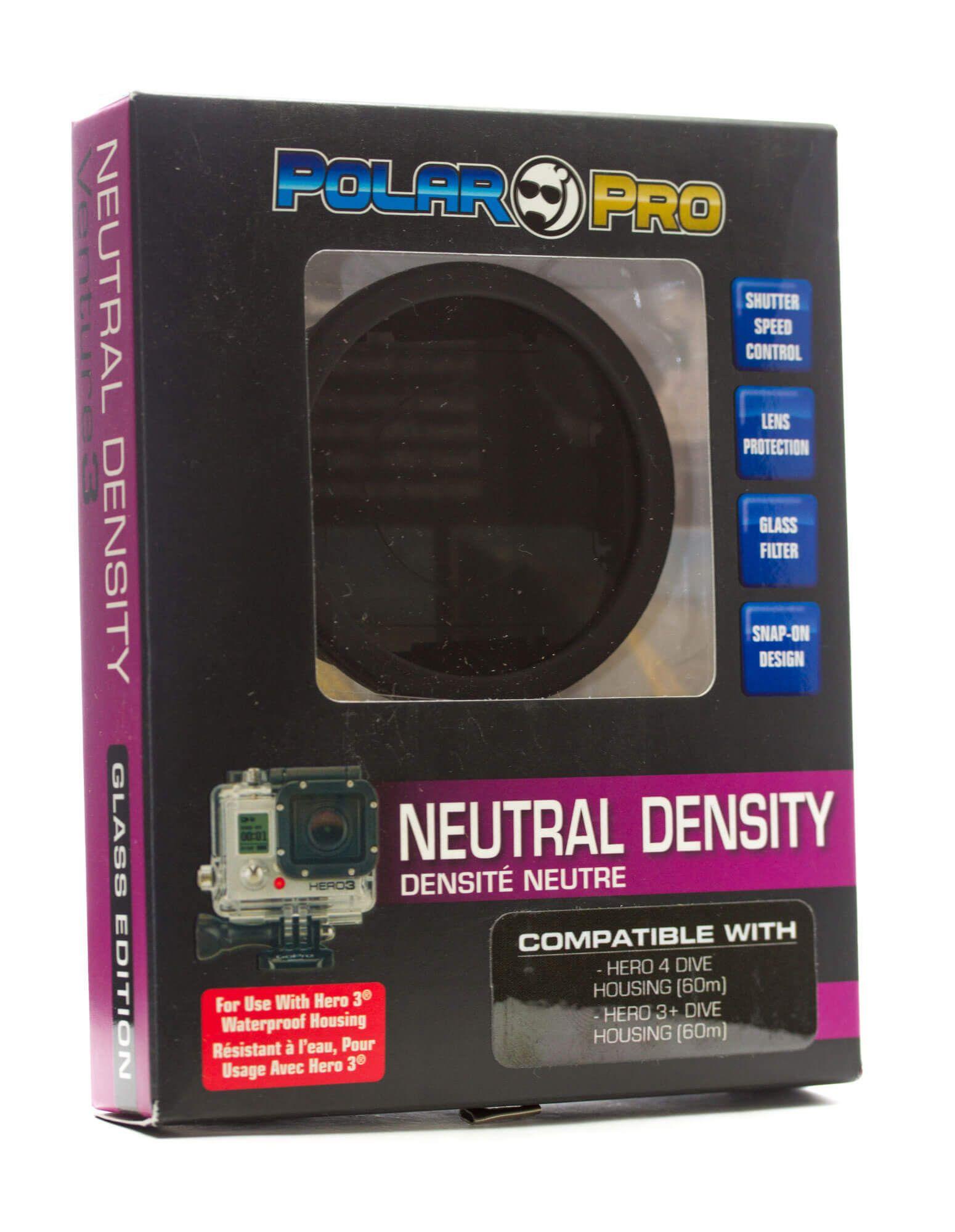Filtro Densidade Neutra Nd Para Gopro Polar Pro - P1012
