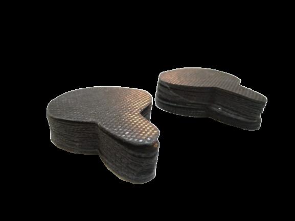 Refil Filtro Para Máscara Ajustável 50 Unidades - Refil PRETO