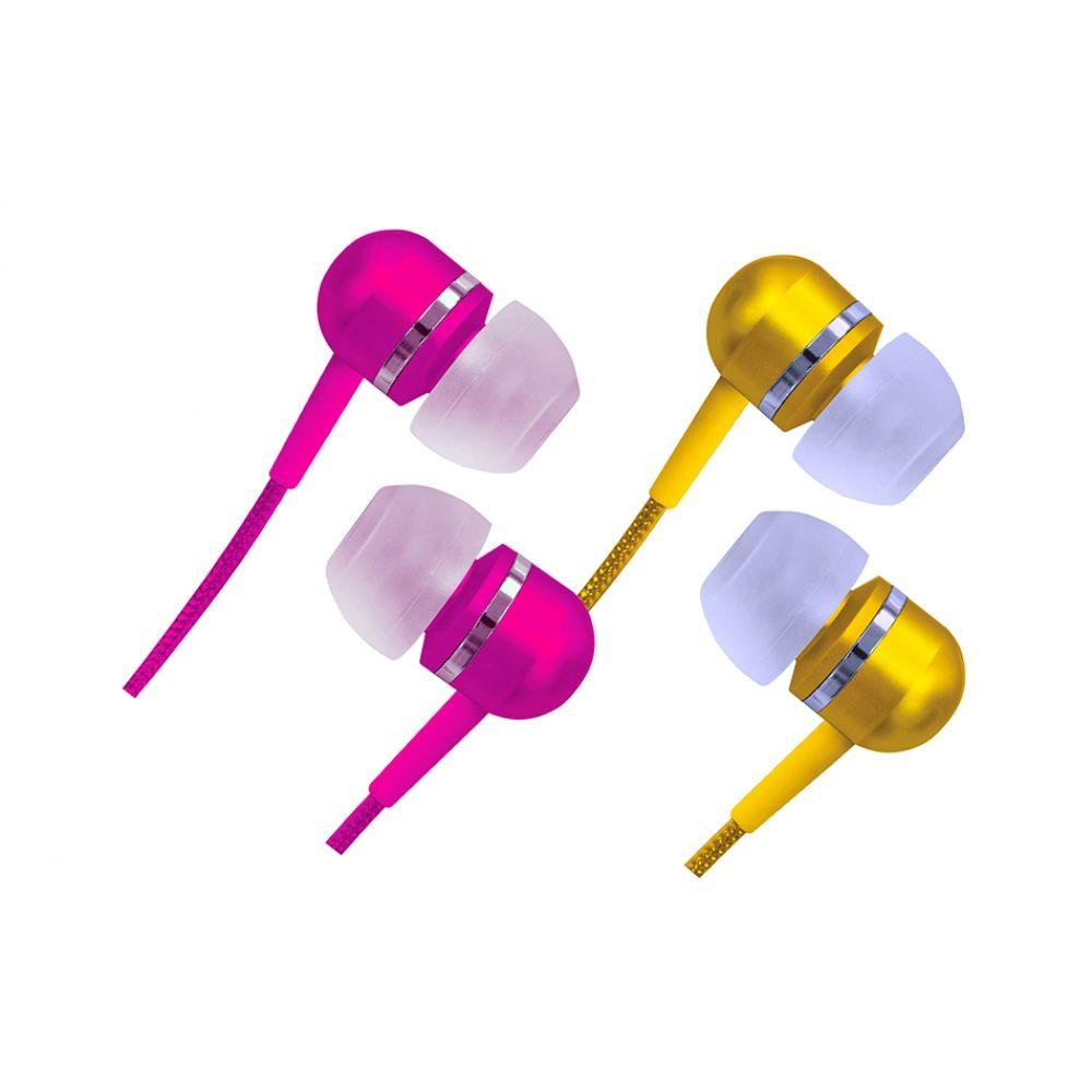 Fone De Ouvido Com Fio E Isolamento Acústico Marca Coby - CVEM79
