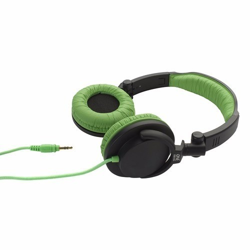 Fone De Ouvido One For All Headphone Estéreo Full Bass Dj Verde - Sv5613
