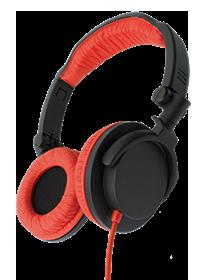 Fone De Ouvido One For All Headphone Vermelho Com Grave Profundo - Sv5611