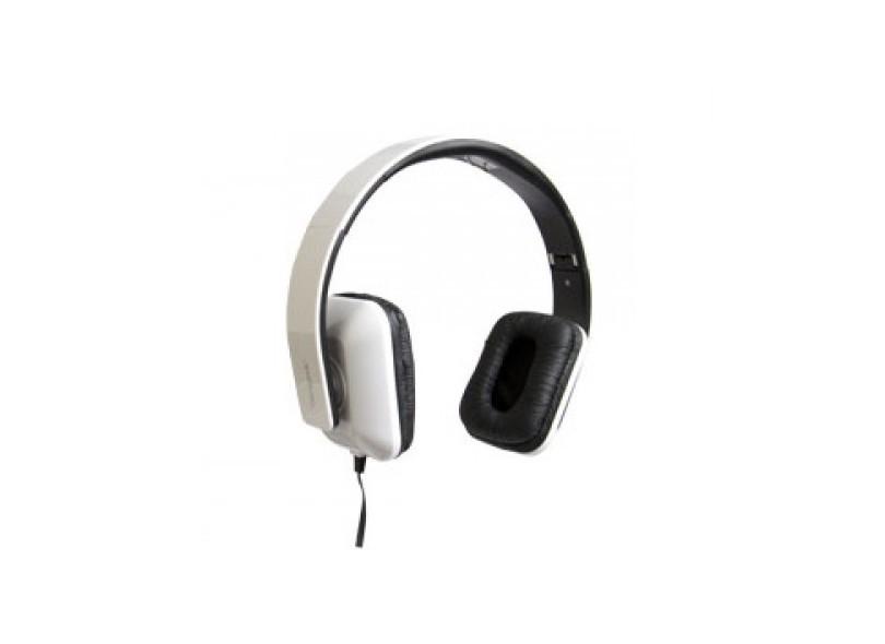Fone De Ouvido Targus Headphone Dobrável Com Microfone Ta-41hp Branco