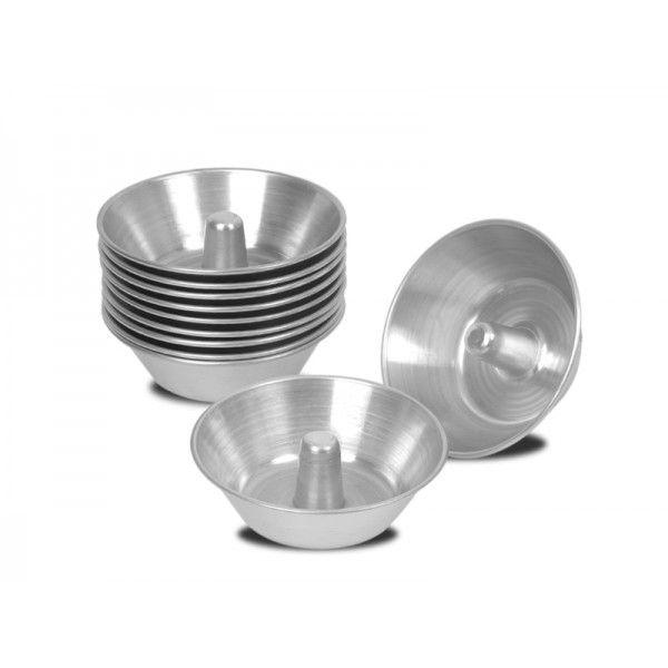 Forma Para Quindim Com Cone 8X5 Alumínio - 39.C8