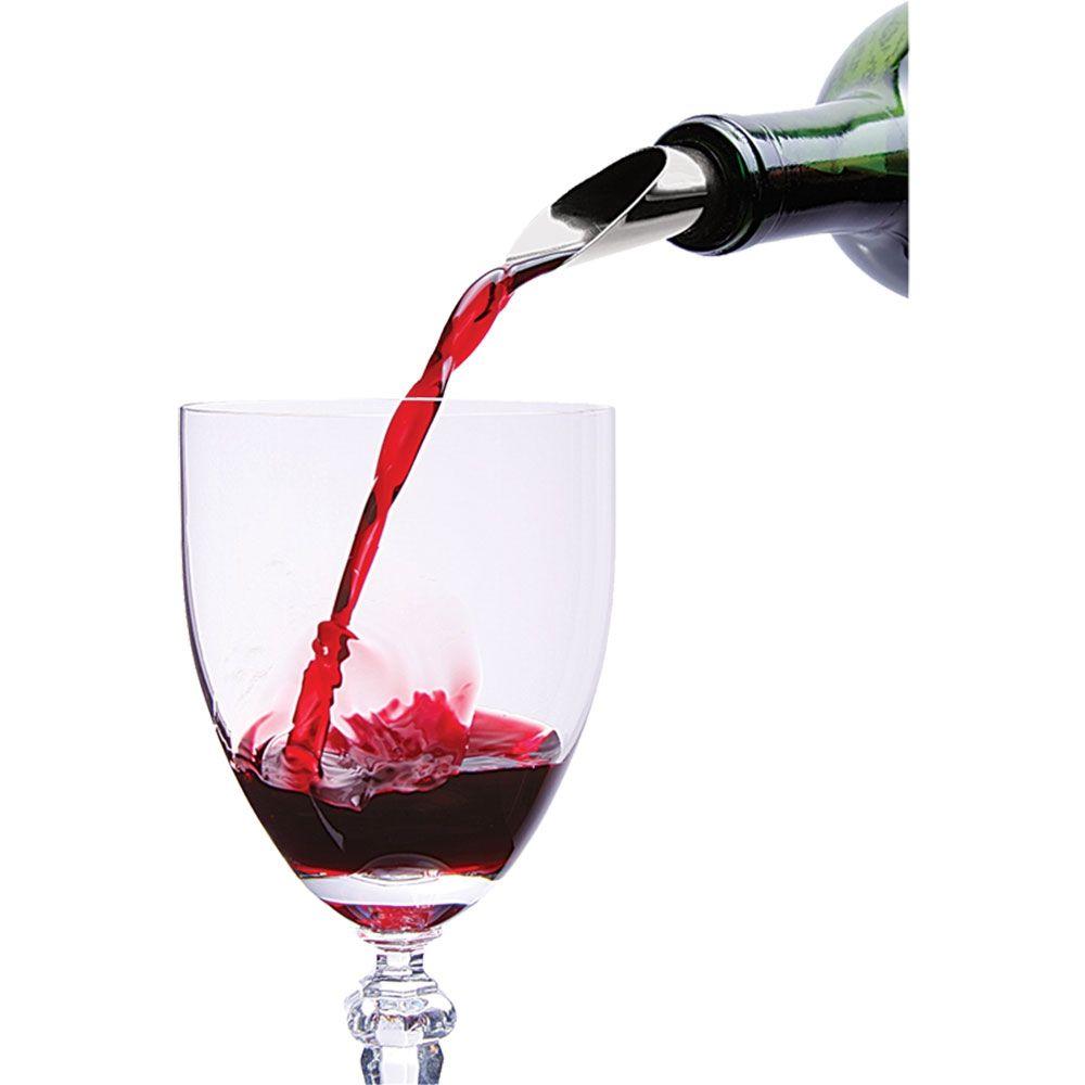 Funil Aço Inox Para Garrafa De Vinho - 2310-303