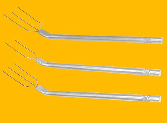 Garfinho Com 3 Pontas Alumínio - 10 Peças - 45.3