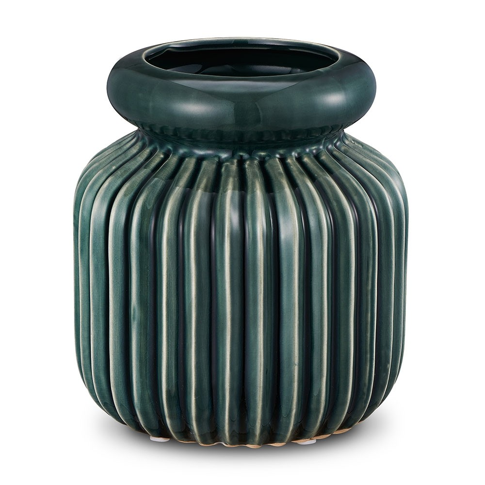 Garrafa Verde 17,5 X 20,5 CM Bencafil - 80081