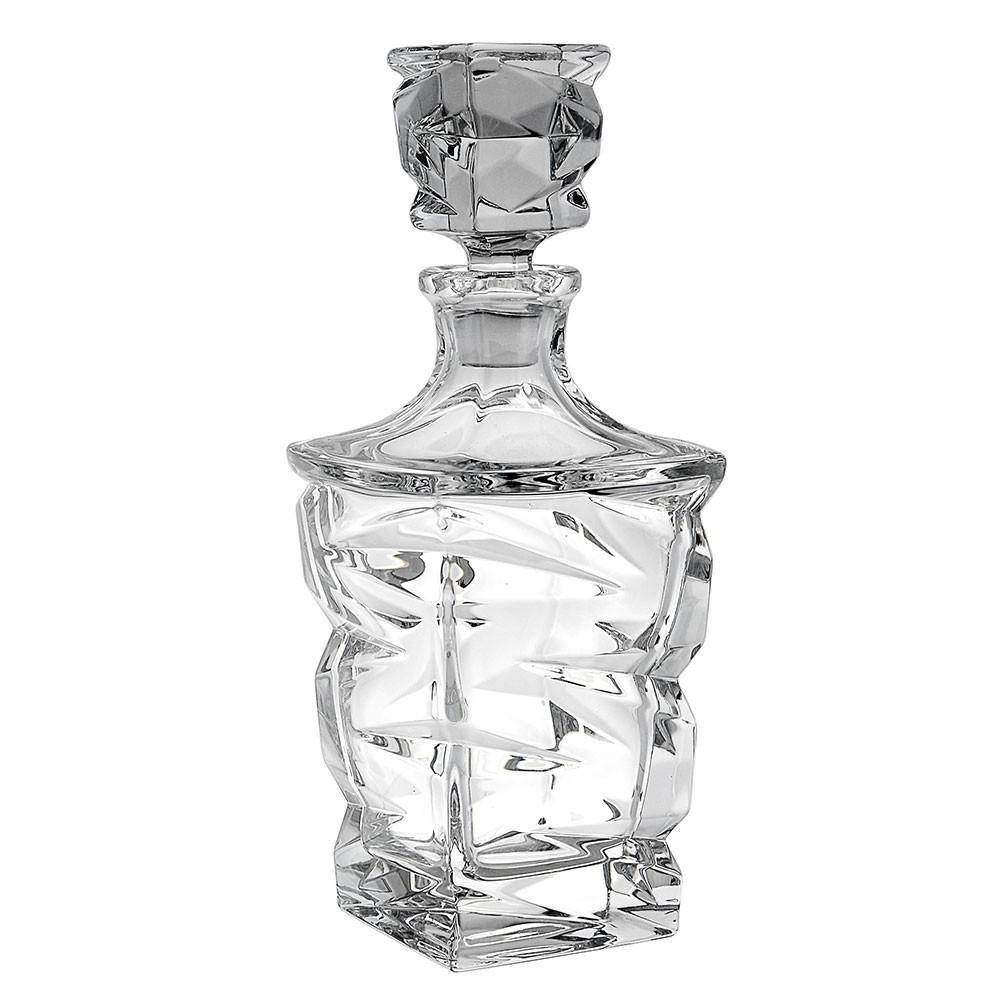 Garrafa Whisky Cristal Zig Zag 750 ML Ricaelle - 46704-075