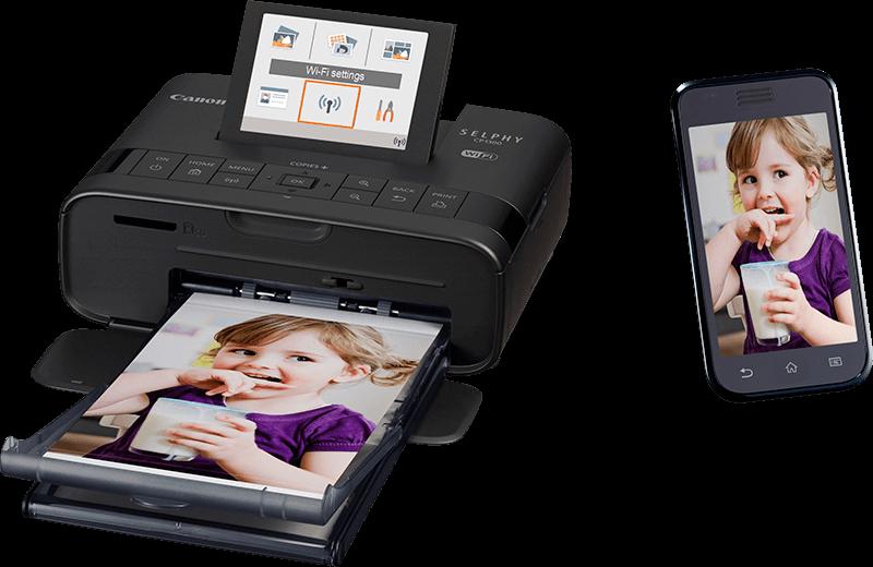 Impressora Fotográfica Canon Portátil Instantânea - CP1300