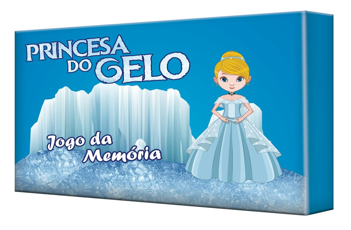 Jogo Da Memória Princesa Do Gelo 30 Peças - 8277