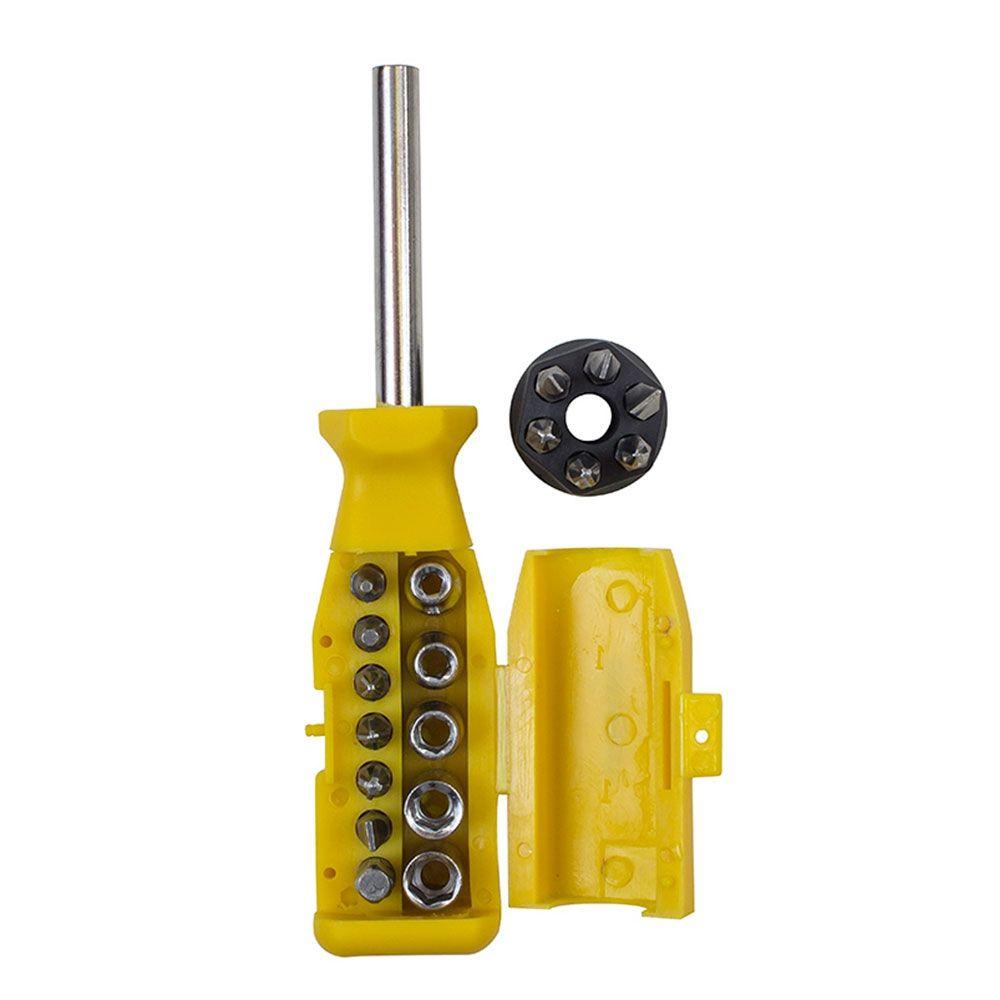 Jogo De Chave Bits 18 X 1 GM - GM5500