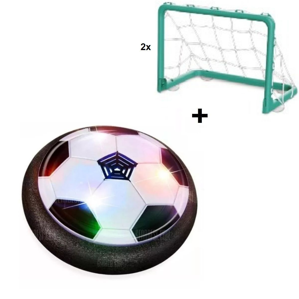 Jogo De Futebol Infantil Hover Ball Eletrônico Com Led E Traves - 9705-1