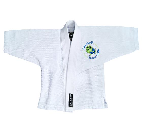 Kimono Vulkan Para Jiu-jitsu Baby Dino Branco