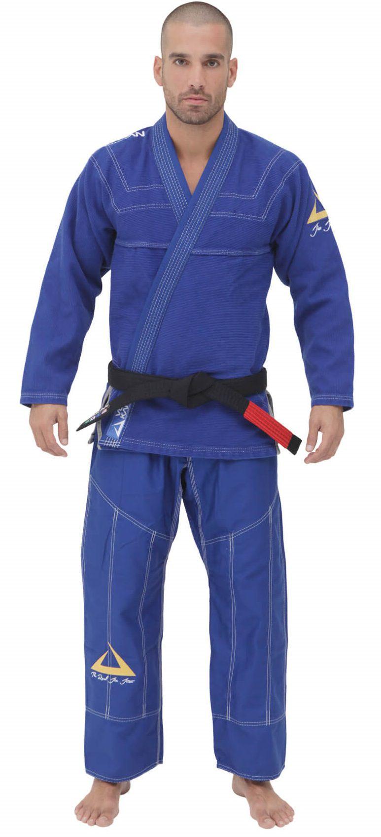 Kimono Vulkan Para Jiu-jitsu Profissional Adulto - SKY PRO AZUL ROYAL 87e9a3c3035cd