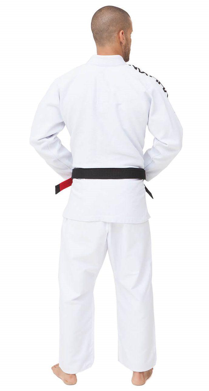 Kimono Vulkan Para Jiu-jitsu Profissional Adulto - VIPER PRO BRANCO