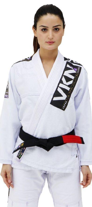 Kimono Vulkan Para Jiu Jitsu Profissional Adulto - VKN PRO SW BRANCO  FEMININO f1b21d22a5b9b