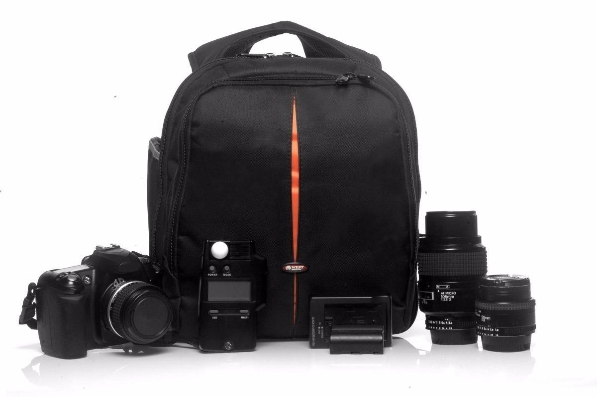 Kit Mochila Para Câmera Fotográfica Profissional Vmb 2 + Kit De Limpeza 8x1 Easy