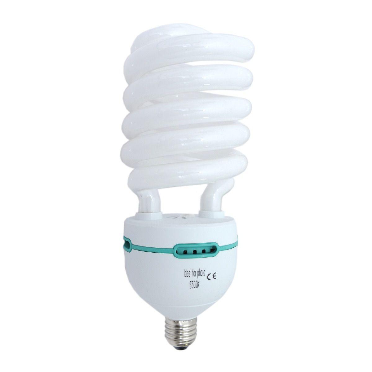 Kit 4 Lampada Para Foto Filmagem 150W 5500k - 220v
