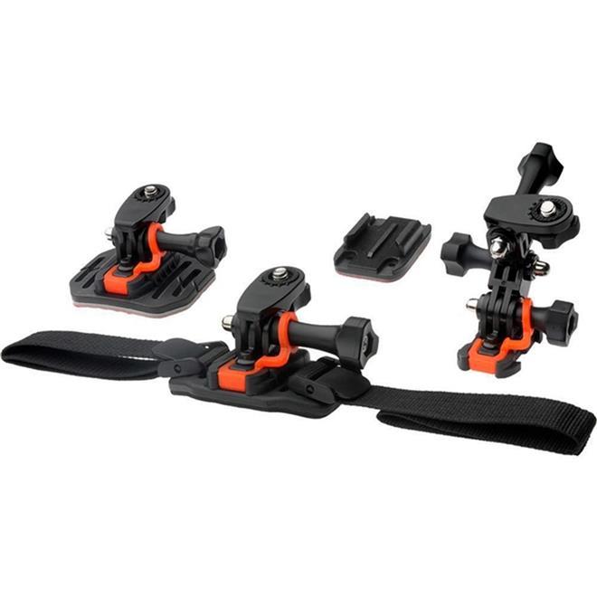 Suportes Vivitar De Câmera GoPro Para Capacete Bike E Outros - VIV-APM7001