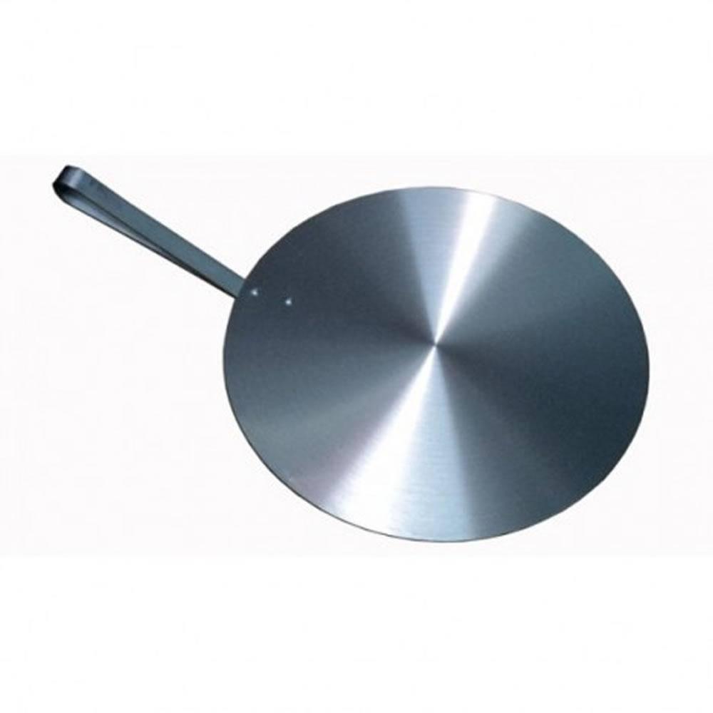 Kit Bailarina Giratória Em Alumínio + Placa Salva Bolo Redonda 35cm Cabo 17,5cm