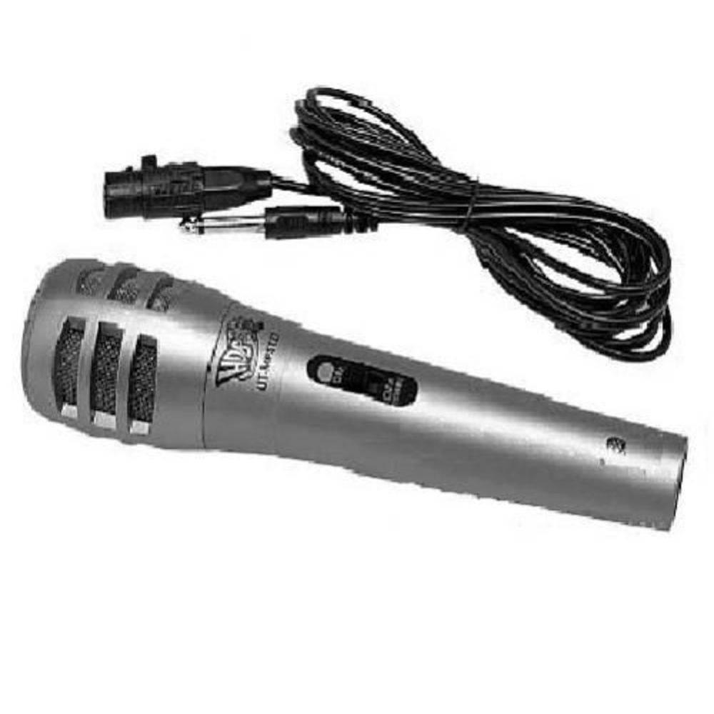 Kit Com 2 Microfones HDB Para Karaokê - UT-MP5127