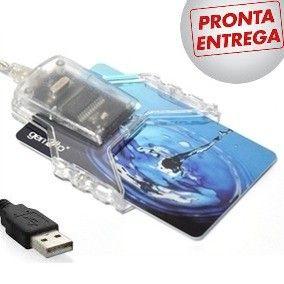 Kit Com 8 Leitora De Certificado Digital Cartão Smartcard - 8 Gemalto