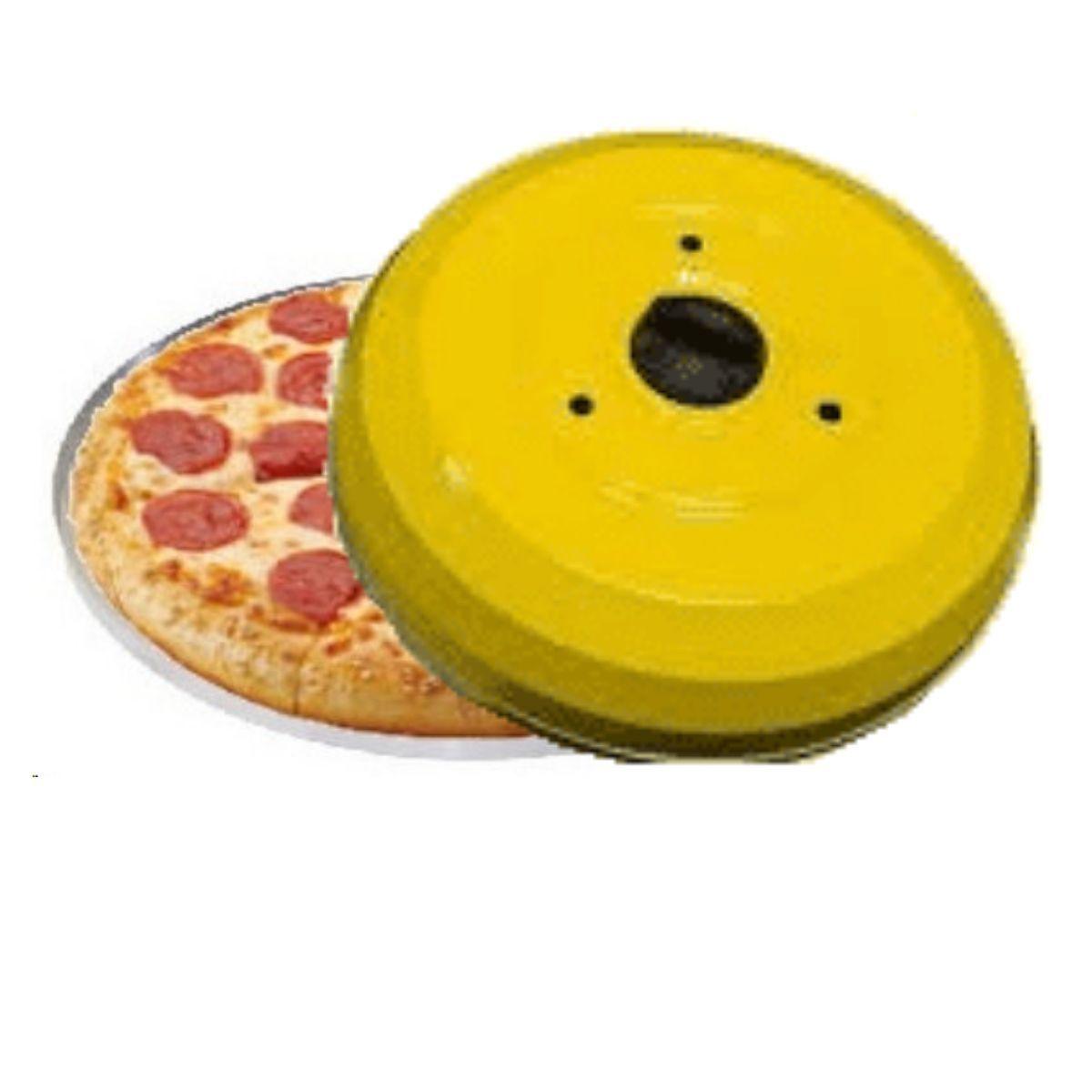 Kit Com Abafador De Pizza E Churrasco Profissional E Forma De Pizza 35cm