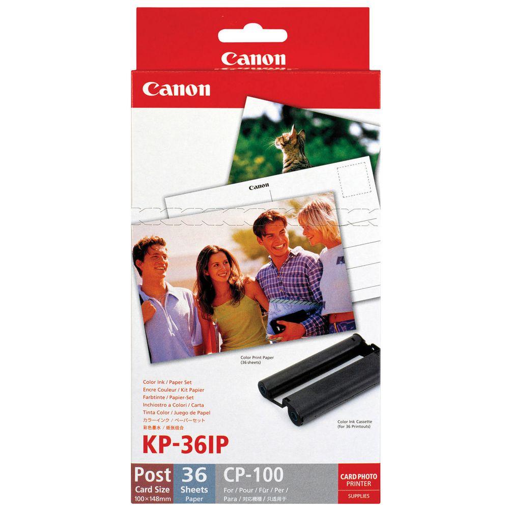 Kit Para Impressora Canon Papéis Fotográficos 10x15 - KP36IP