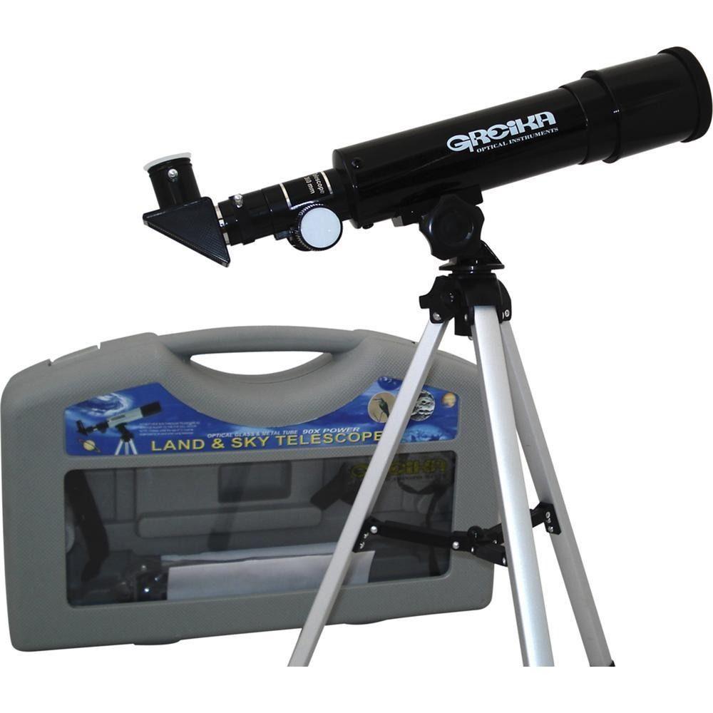 Kit Completo Telescópio Luneta Greika 36050HD