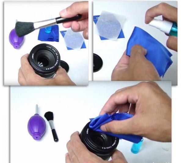 Kit De Limpeza E Manutenção Para Lentes E Itens Fotográficos - Easy 6X1